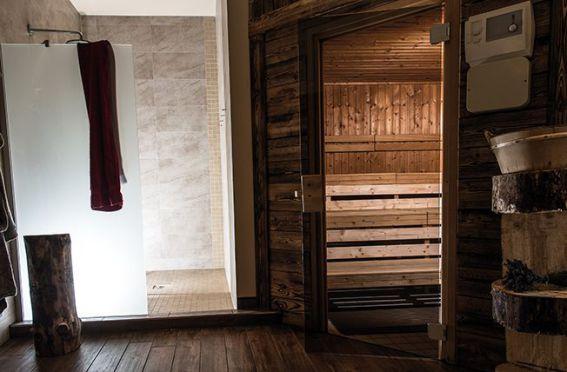 Wintercamping im Harz - entspannen in der Sauna